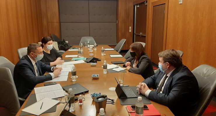 Шевченко в США встретился с главой миссии МВФ в Украине: Подробности