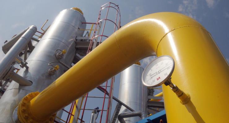 Транзит газа в Европу по украинской ГТС за год уменьшился более чем на треть