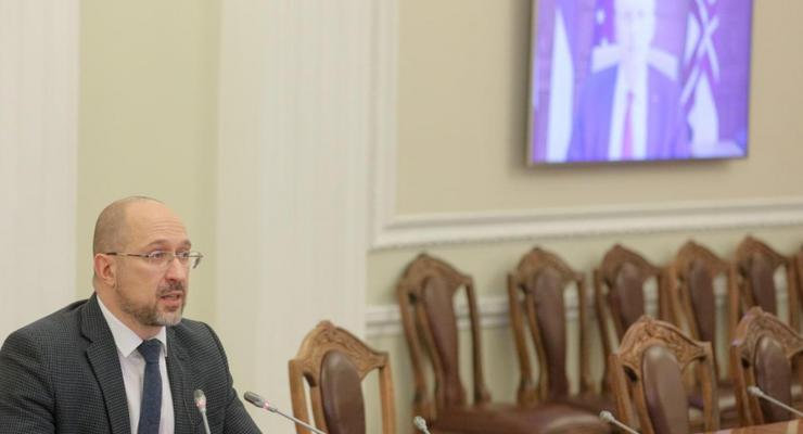 Шмыгаль пообщался с премьером Латвии: О чем шла речь