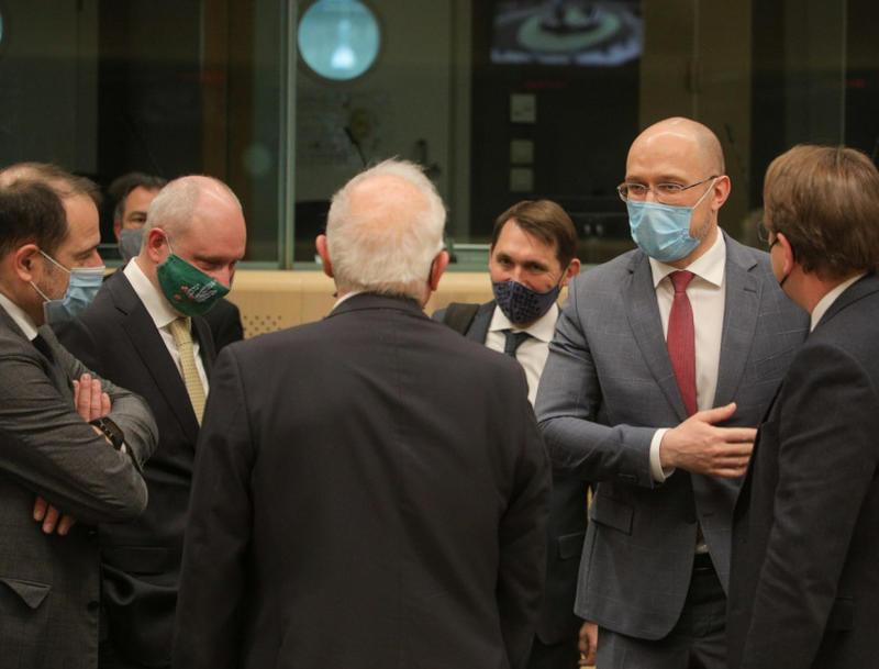 Шмыгаль в Брюсселе назвал основные приоритеты Украины / Правительственный портал