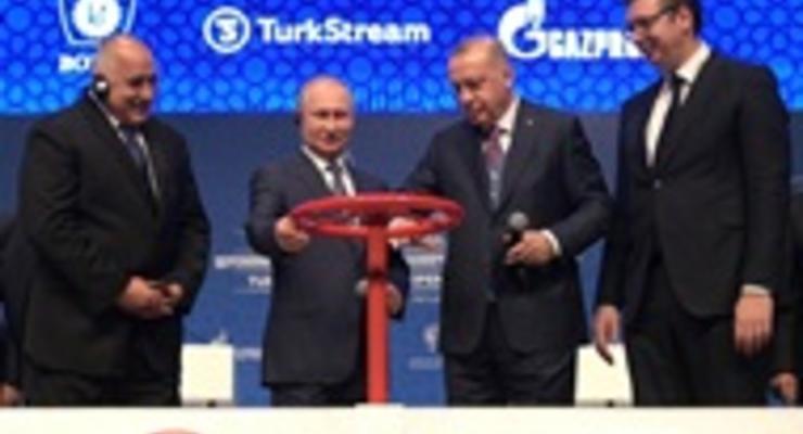 Болгария и Греция в прошлом году почти весь газ получили в обход Украины