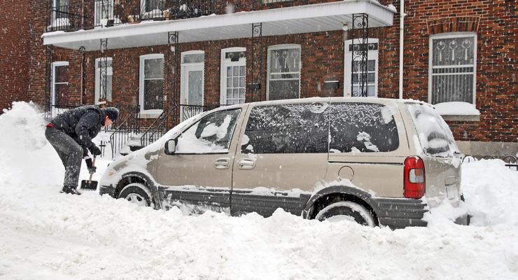 В Киеве спрос на услуги по уборке снега за неделю вырос в 23 раза