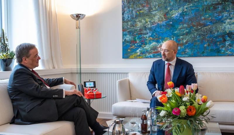 Шмыгаль находится с визитом в Германии: с кем пообщался украинский премьер / Правительственный портал
