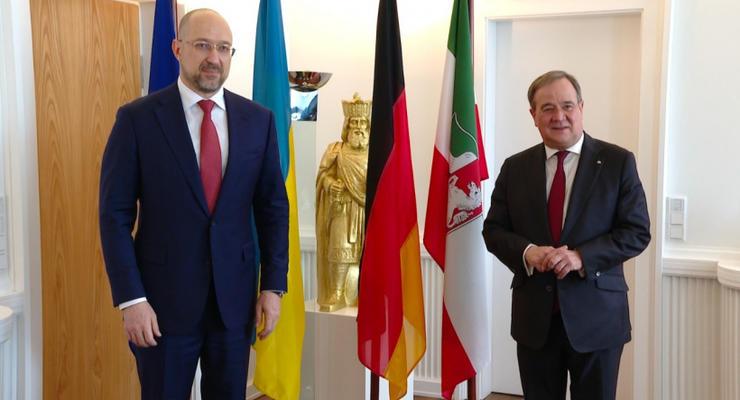 Шмыгаль находится с визитом в Германии: с кем пообщался украинский премьер