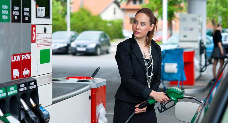 В Украине вновь дорожает бензин и дизтопливо