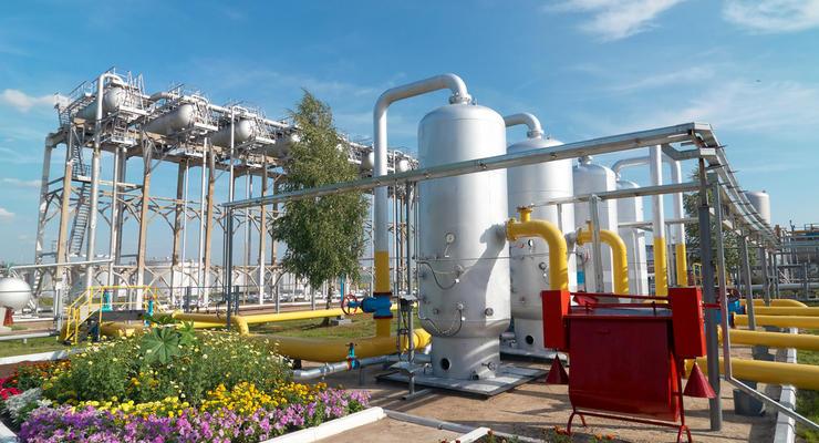 Иностранные компании в больших объемах хранят газ в Украине
