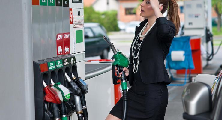 Цены на бензин в Украине растут