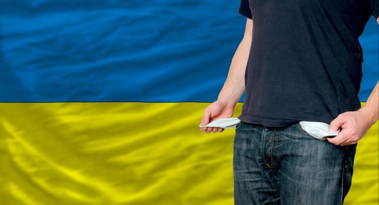 Госдолг Украины вырос на 1 млрд долларов
