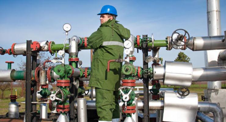 """""""Газпром"""" остановил закачку газа в европейские хранилища"""