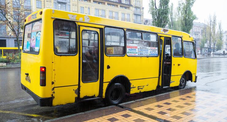 Проезд в маршрутках под Киевом подешевел