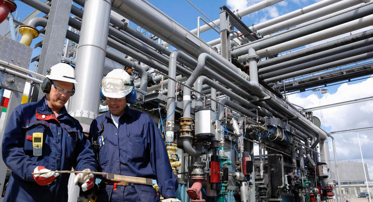 Цены на газ в Европе приблизились к $1200