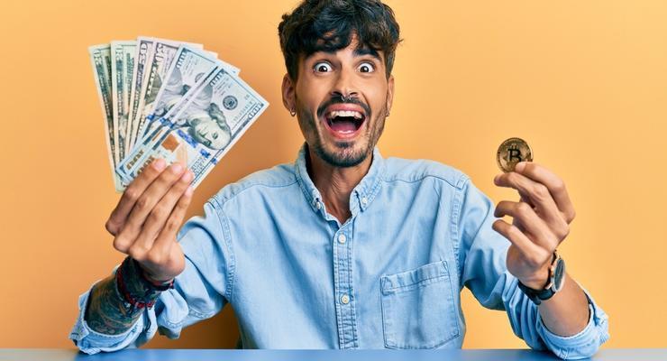 Курс биткоина превысил $ 50000