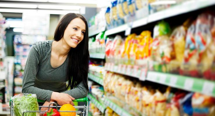 Цены на продукты питания в Украине выросли почти на четверть